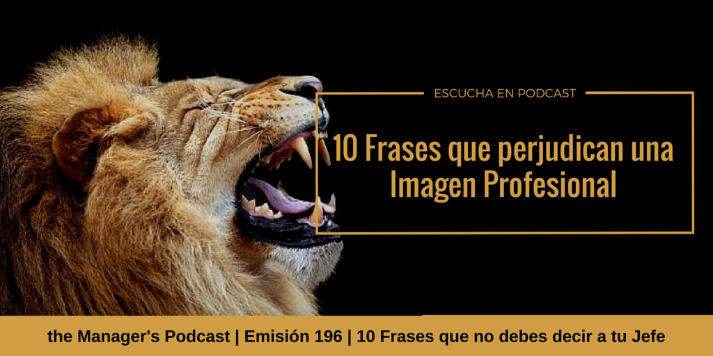 10 Frases Que No Debes Decir A Tu Jefe 196 The Managers