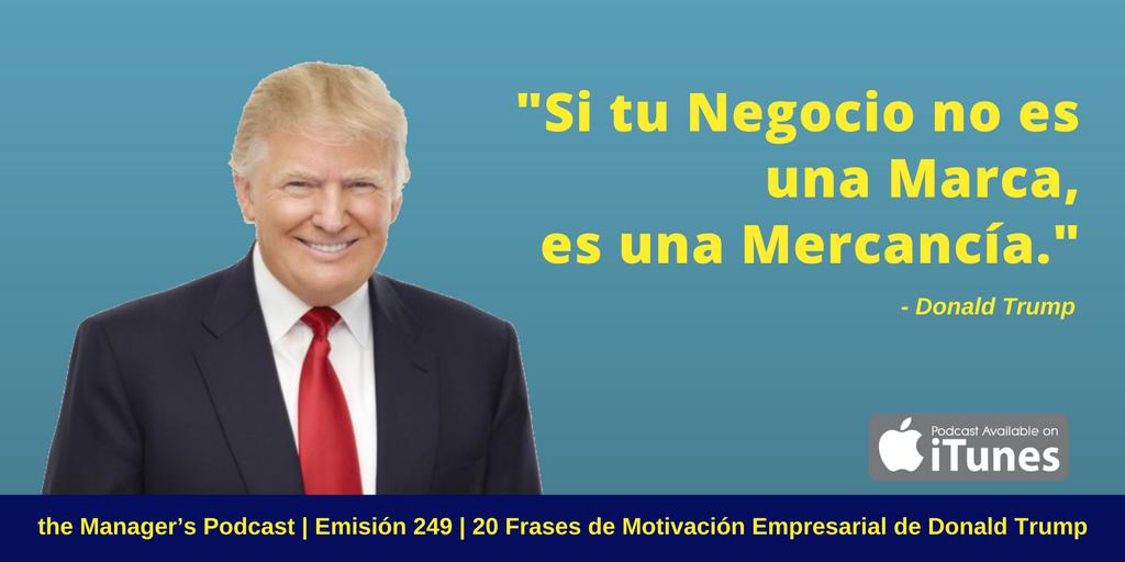 Donald Trump Marca Empresario Emprendimiento Gustavo